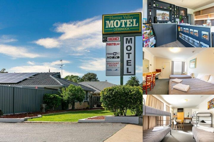 Hunter Valley Motel photo collage