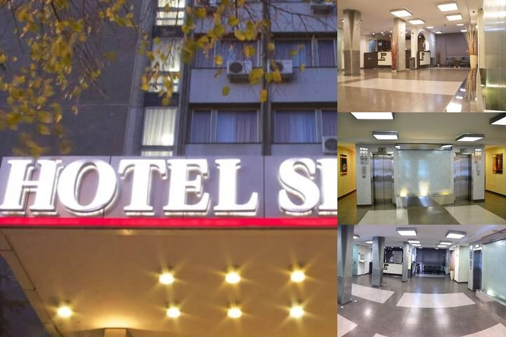Hotel Srbija photo collage
