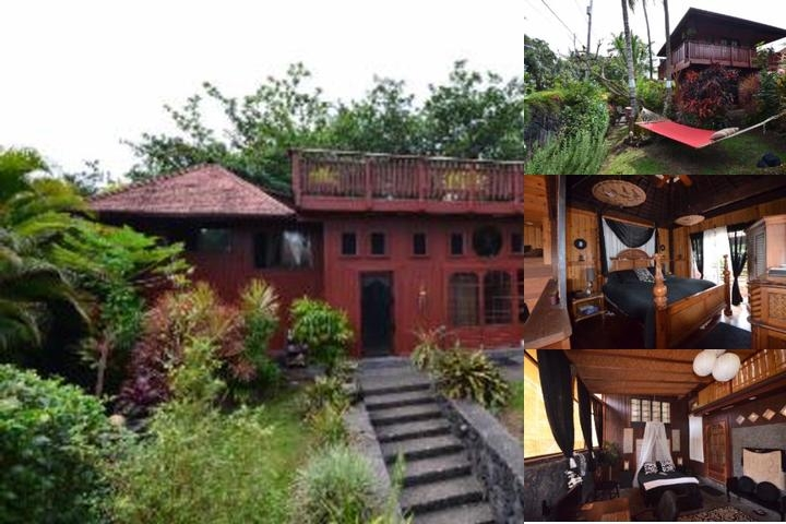 The Bali House & Cottage at Kehene Beach Hawaii photo collage