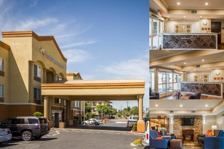 Comfort Inn & Suites Sacramento photo collage