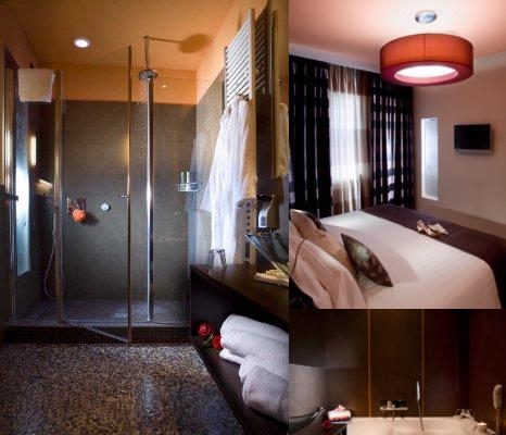 Executive Suite Hotel photo collage