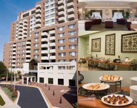 Towson University Marriott Conference Hotel photo collage