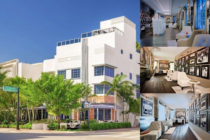 Gale South Beach Curio Collection by Hilton photo collage