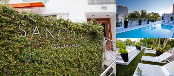 Sanctuary South Beach Photo Collage