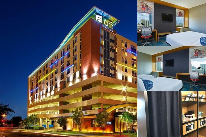 Aloft Houston by The Galleria photo collage