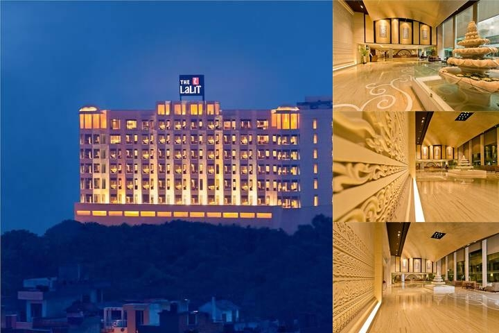 The Lalit Jaipur photo collage