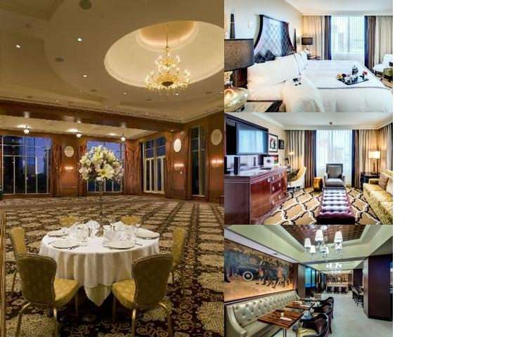 Intercontinental New Orleans photo collage