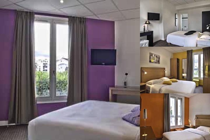 Hotel Astor Suresnes photo collage
