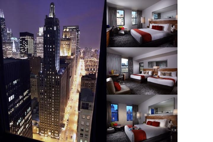 Pendry Chicago photo collage