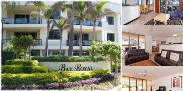 Bay Royal Apartment photo collage