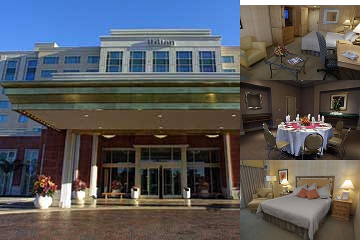 Hilton Santa Clara photo collage
