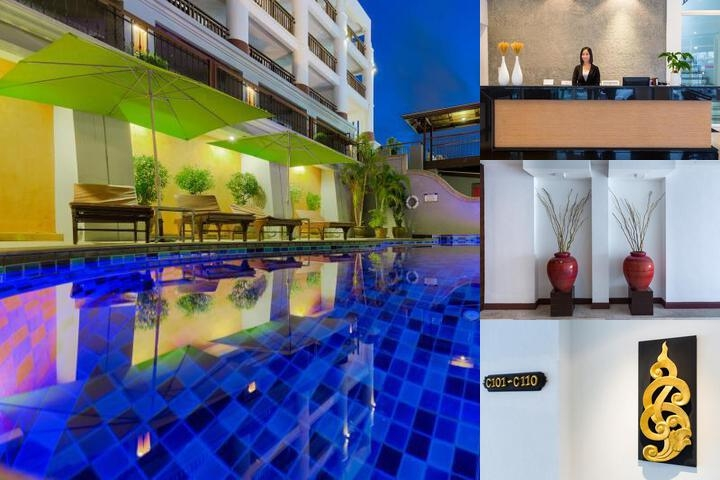 Leelawadee Boutique Hotel photo collage