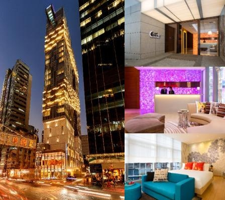 Hotel Indigo Hong Kong Island photo collage