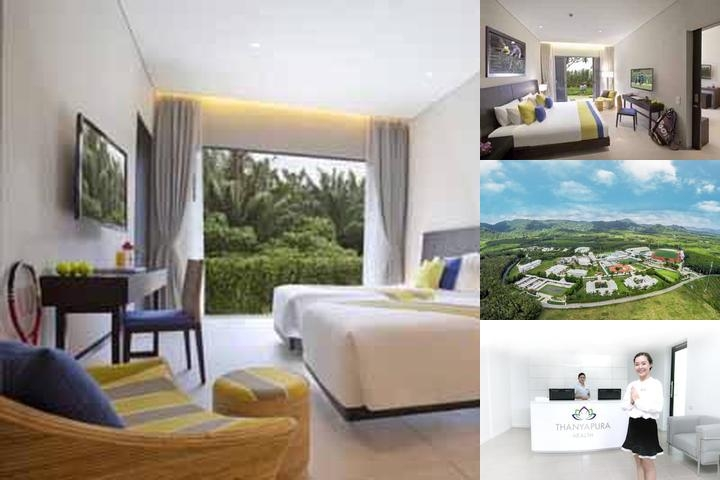 Thanyapura Sports Hotel photo collage