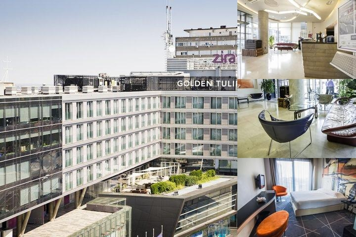 Zira Hotel Belgrade photo collage