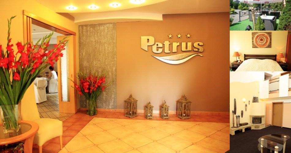Petrus Hotel photo collage