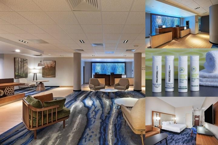 Fairfield Inn & Suites by Marriott Tulsa Downtown photo collage