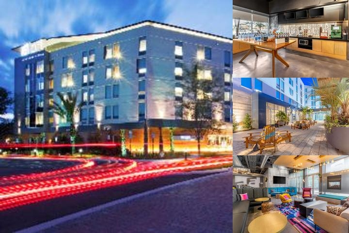 Aloft Jacksonville Tapestry Park photo collage