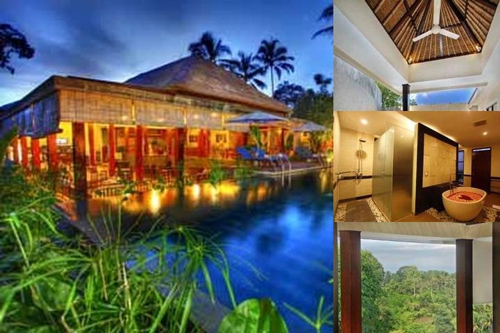 Bali Rich Luxury Villas & Spa Ubud photo collage