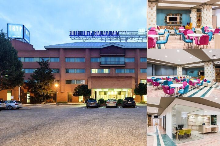 Tryp Guadalajara Hotel photo collage