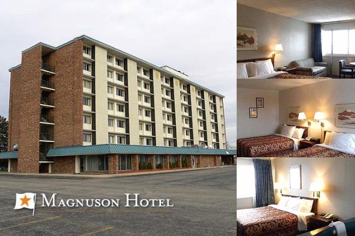 Magnuson Hotel Lansing photo collage