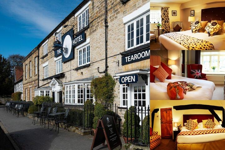 Black Swan Hotel photo collage