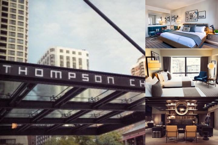 Thompson Chicago photo collage