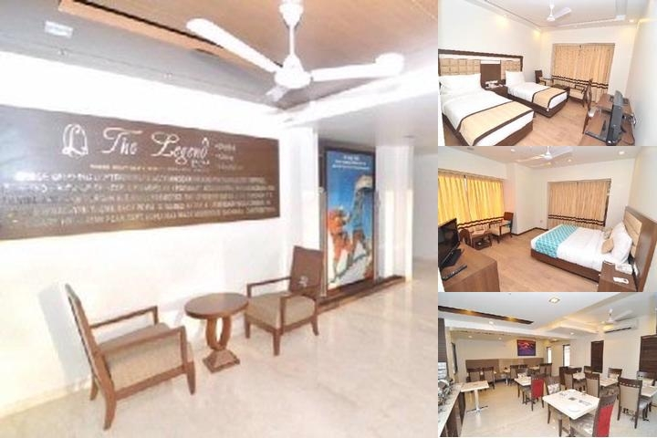 The Legend Inn Nagpur photo collage