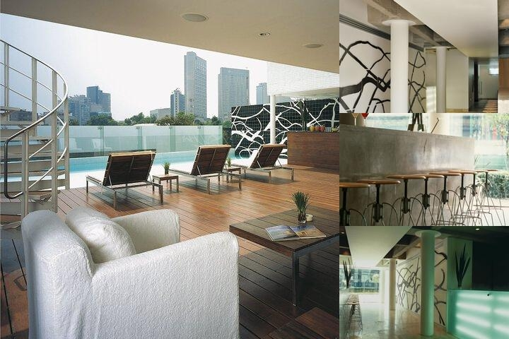 Hotel Habita photo collage