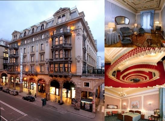 Bristol Palace Hotel photo collage