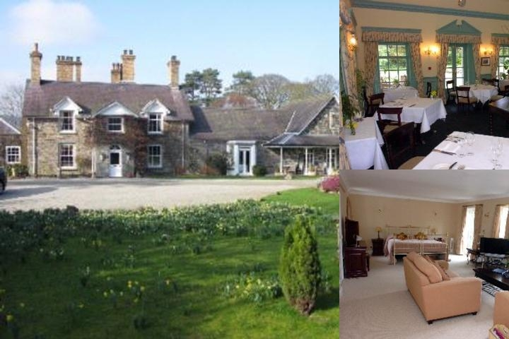 Tyddyn Llan Hotel photo collage