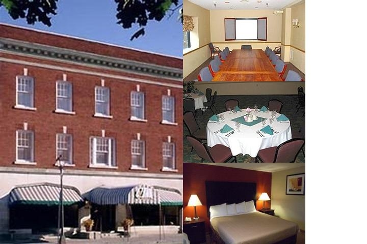 St. Charles Hotel photo collage