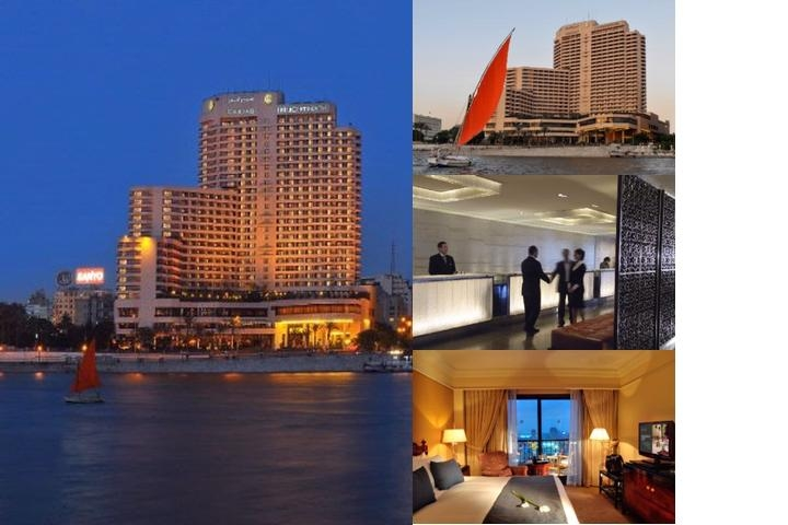 Intercontinental Cairo Semiramis photo collage