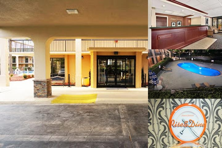 Howard Johnson Greensboro photo collage