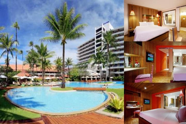 Patong Beach Hotel photo collage