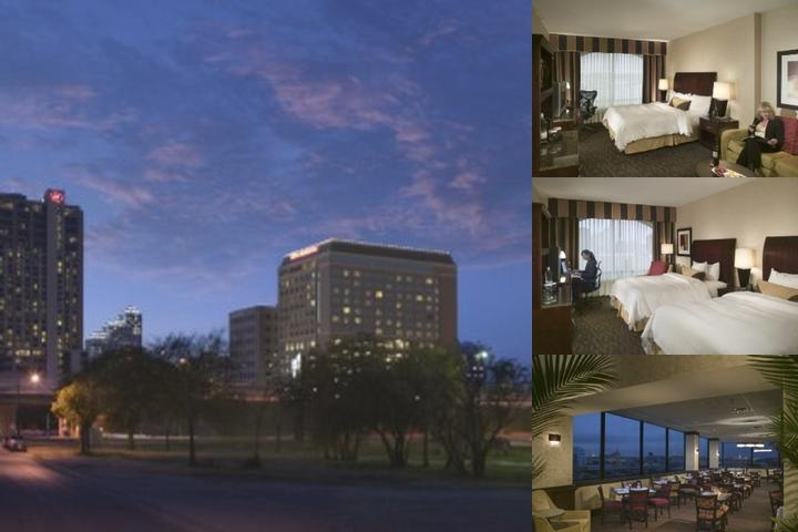 Hilton Austin photo collage