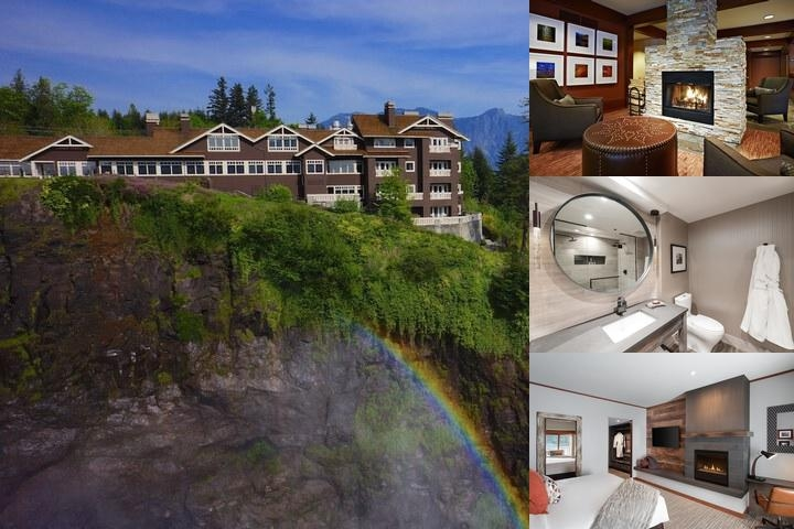 Salish Lodge & Spa photo collage