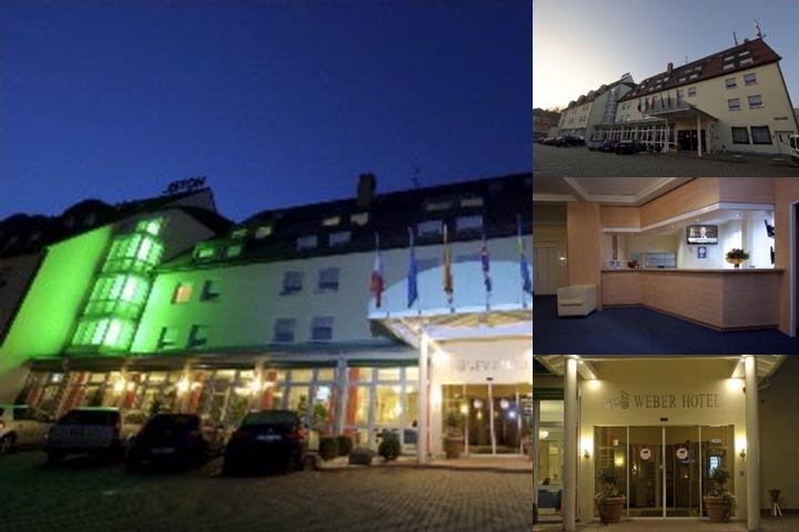 Weber Hotel photo collage