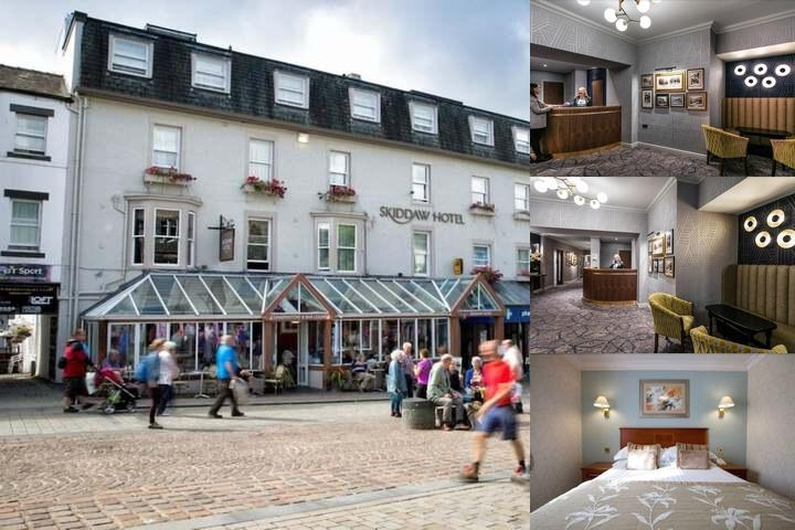 Skiddaw Hotel photo collage