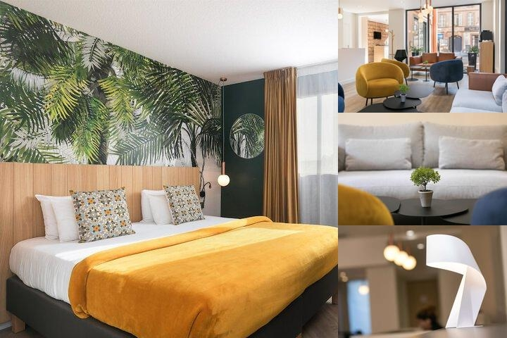 Best Western Athenee by Happyculture photo collage
