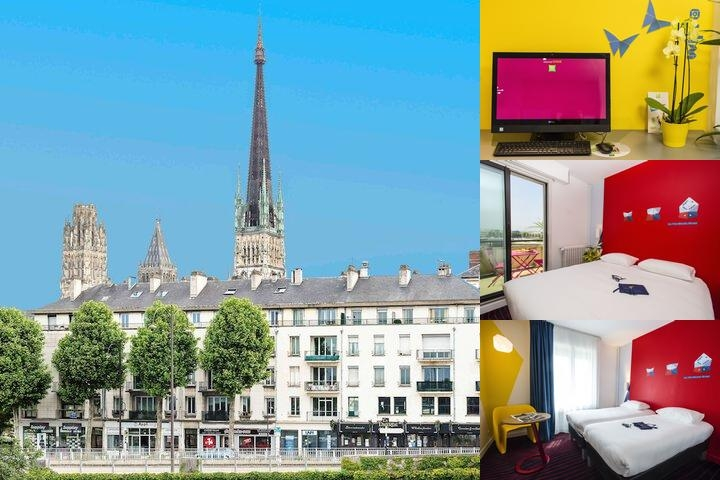 Ibis Styles Hôtel Rouen Cathedrale photo collage