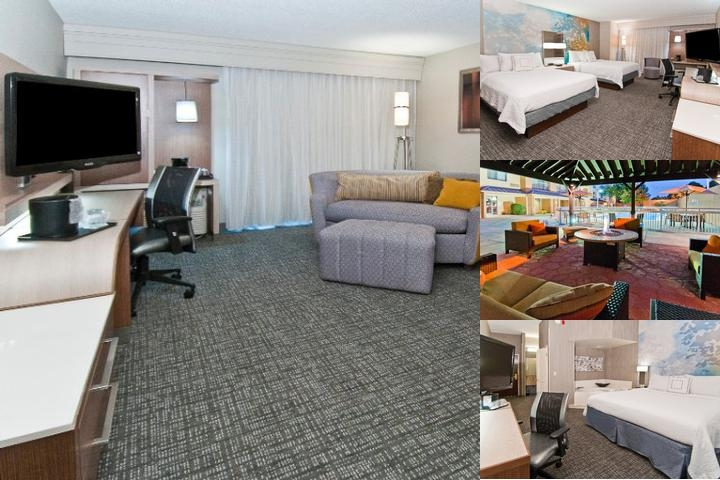 Courtyard by Marriott at Lenox Park photo collage