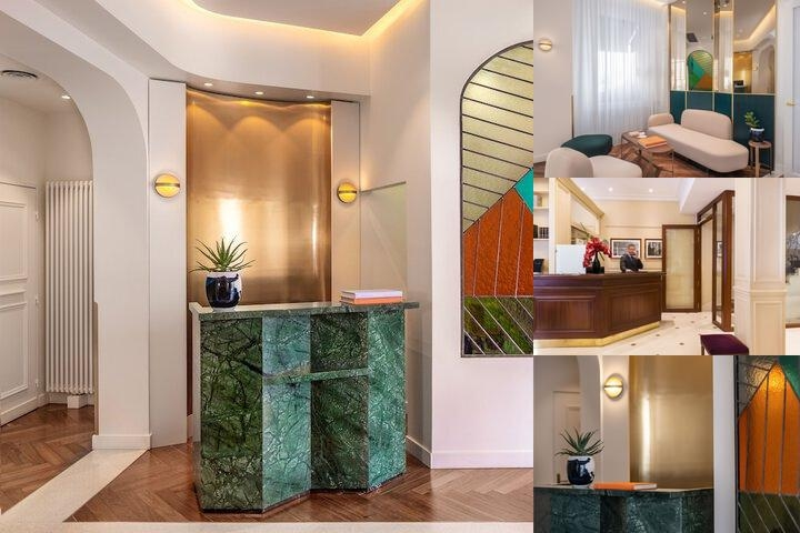 Hotel Champs Elysees Friedland photo collage