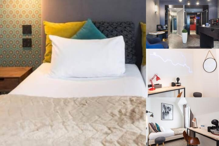 Best Western Hotel Eiffel Auteuil photo collage