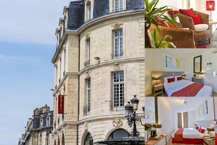 Coeur De City Hotel Bordeaux Clemenceau photo collage