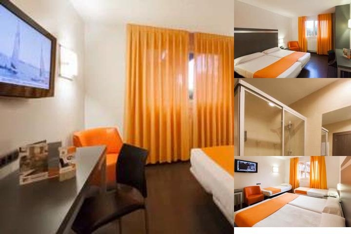 Hotel H2 Oviedo photo collage
