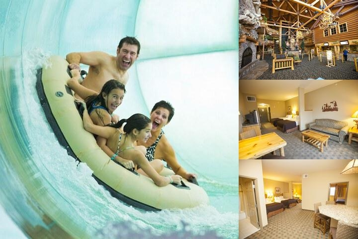 Great Wolf Lodge photo collage