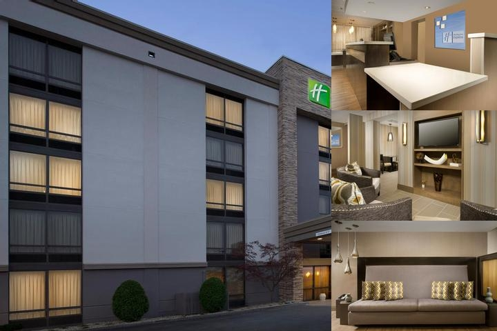 Holiday Inn Express Boston Woburn photo collage