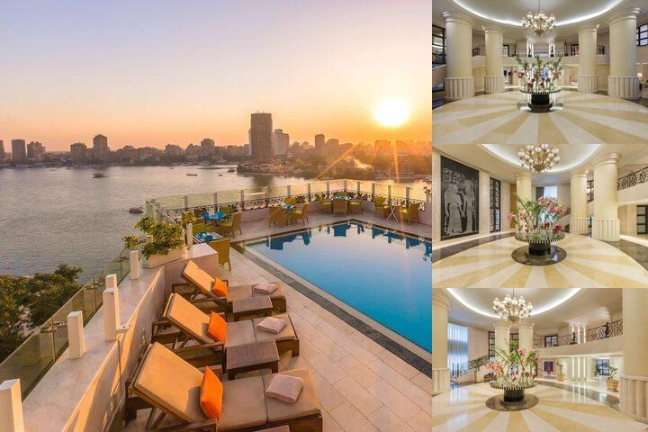 Kempinski Nile Hotel Cairo photo collage