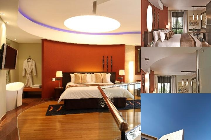 Tribe Hotel photo collage